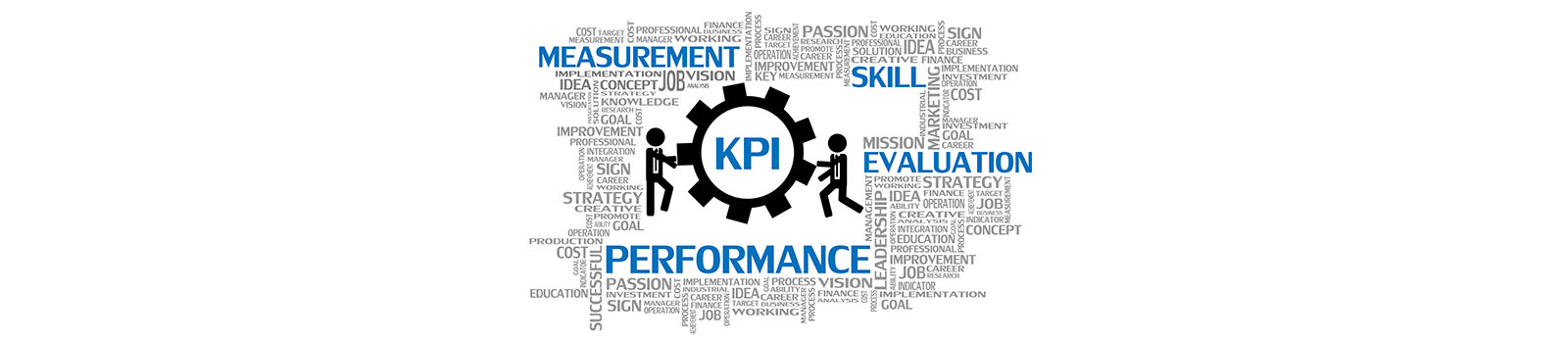 Vector of Key Performance Indicator or KPI, Business Concept